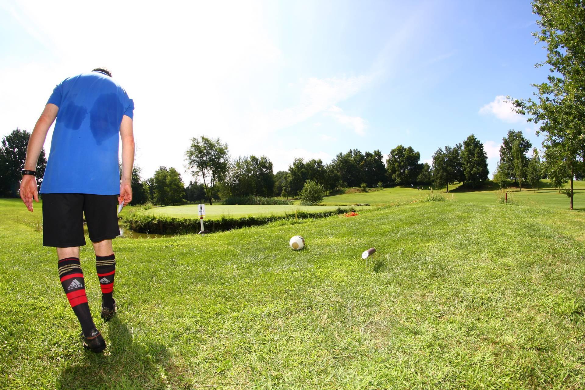 Il footgolf è la cosa più importante