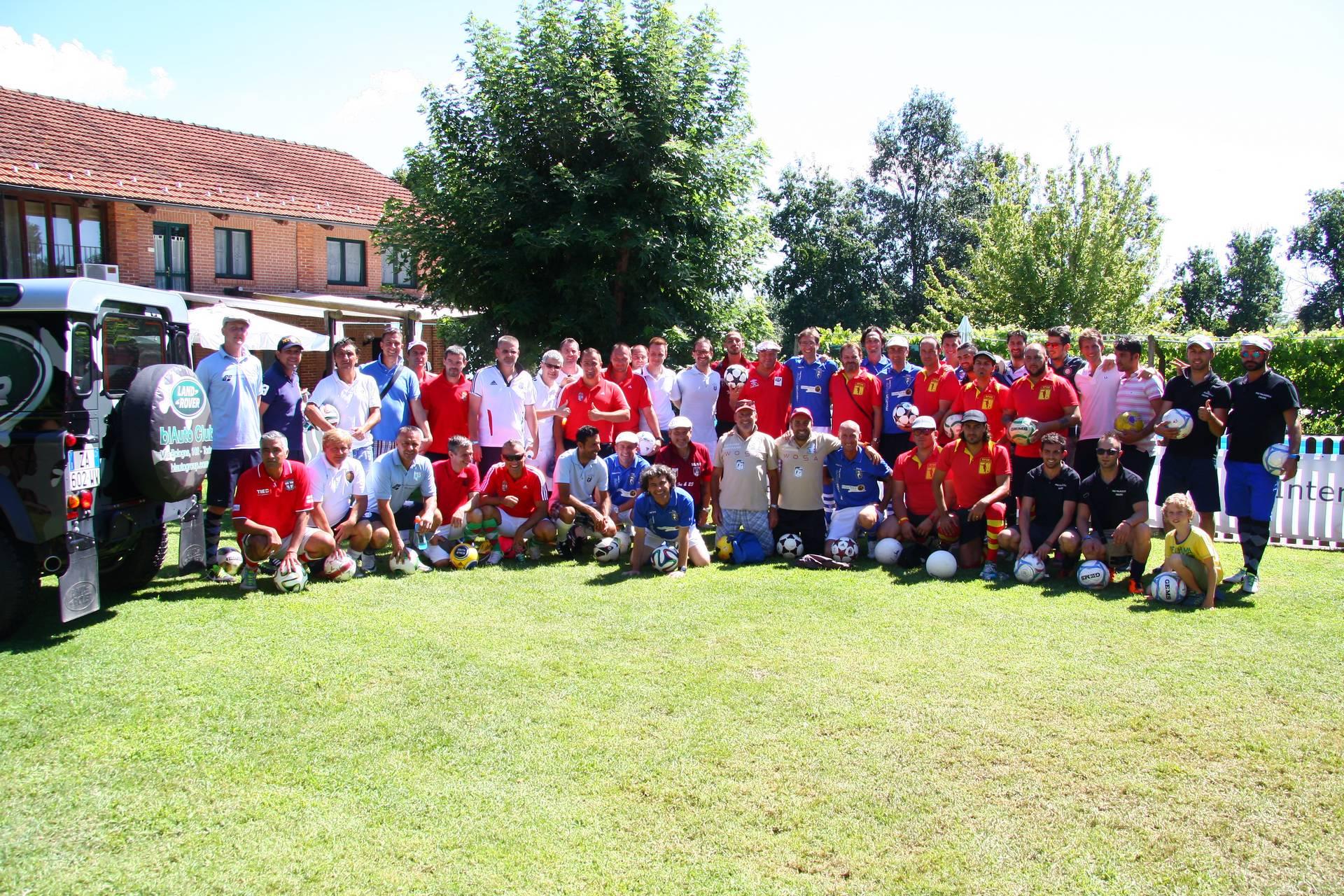 L'eleganza del Golf incontra la popolarità del Calcio
