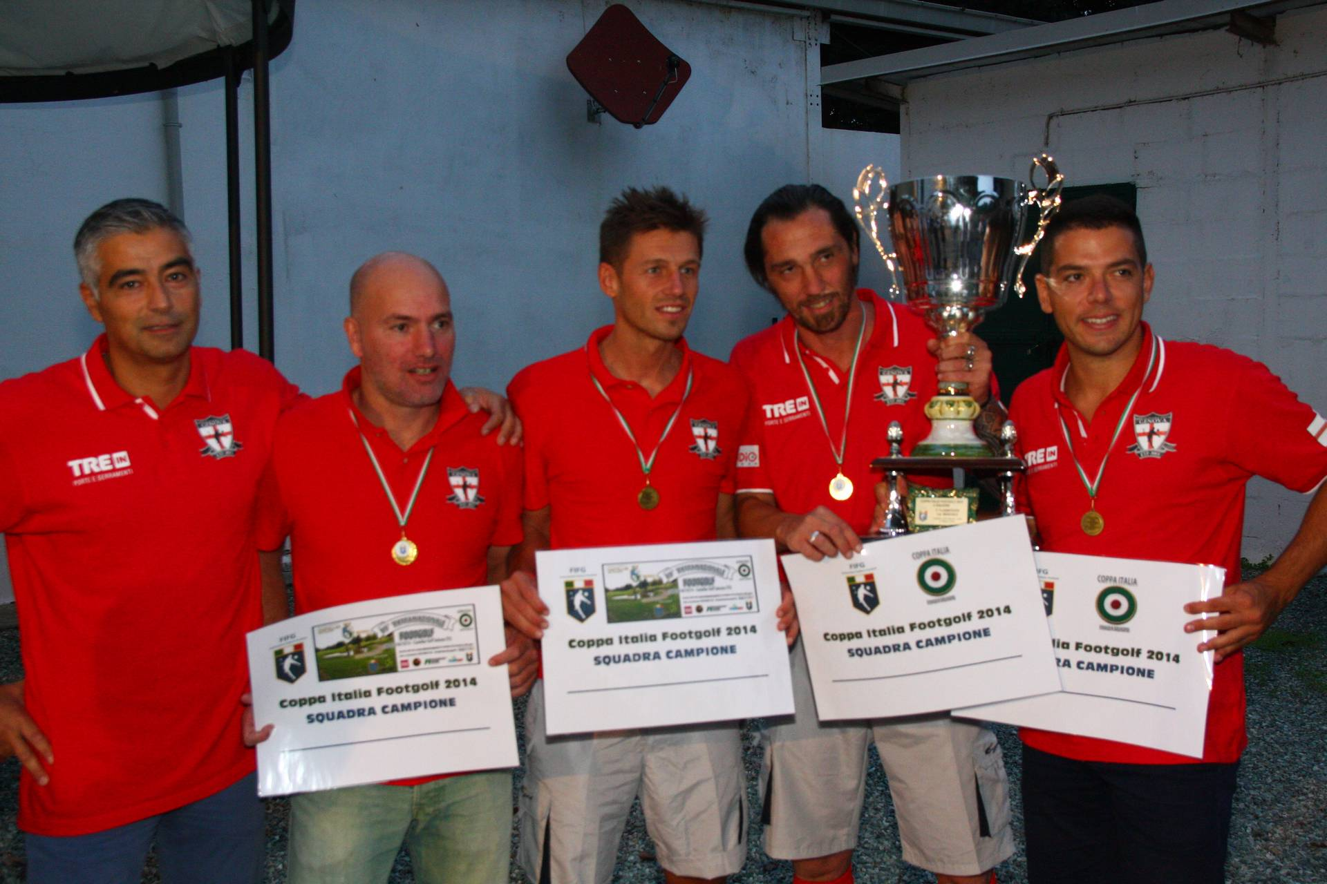 Coppa Italia Footgolf 2014 a Squadre