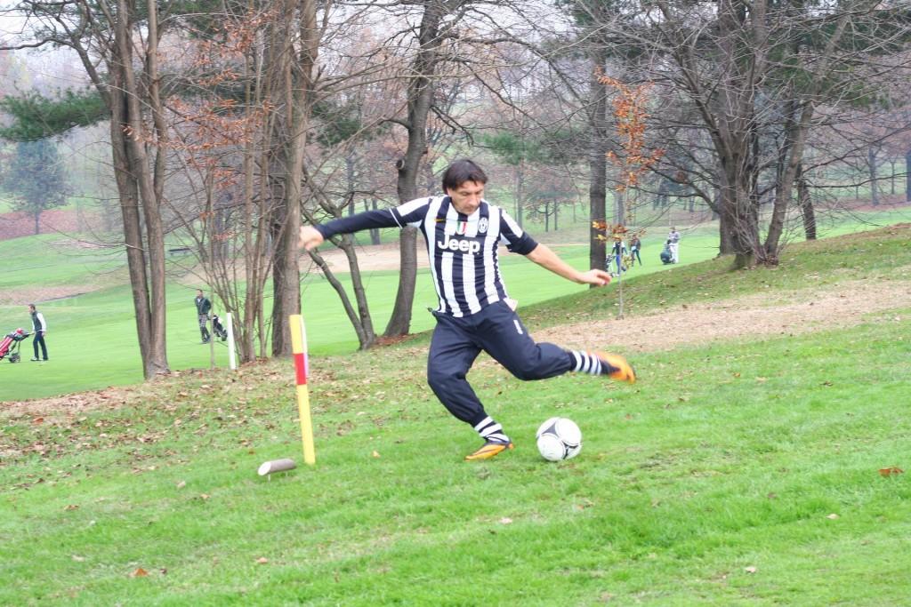Ivano Bonetti Derby della Mole footgolf