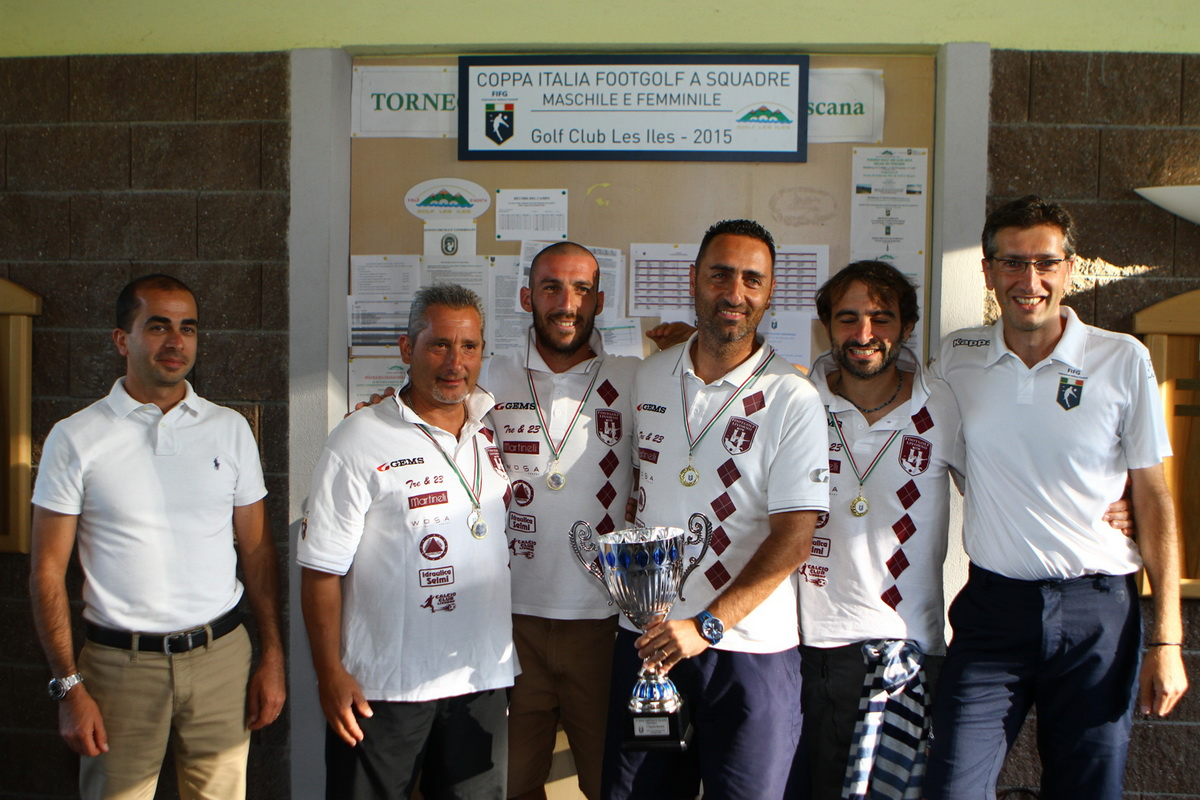 Coppa Italia Footgolf 2015 a Squadre