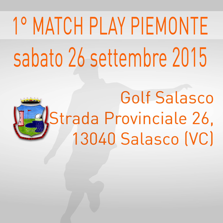 Locandina 1 tappa Match Play Championship Footgolf Piemonte 2015/2016 Salasco VC sabato 26 settembre 2015 Negozio