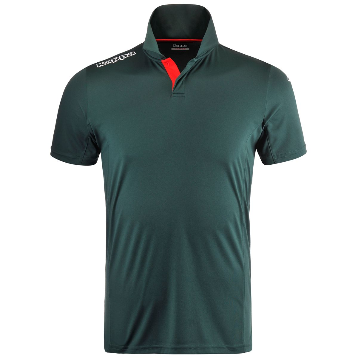 Polo KappaGolf SICET Green dark-Red