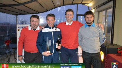 Andrea Battaggia vince 6 Regions' Cup ‎Footgolf ‎Piemonte 2016 Golf Club Monferrato (Al) 16gen16-217