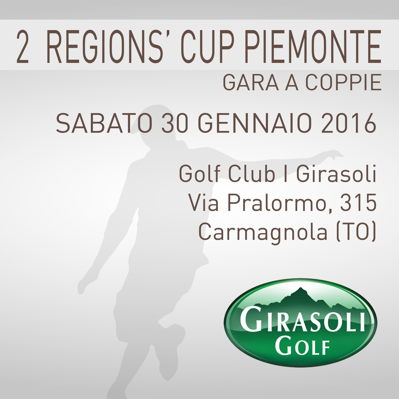 Locandina 2 tappa Regions' Cup Footgolf Piemonte 2015-2016 Coppie Carmagnola TO sabato 30 gennaio 2016 Negozio
