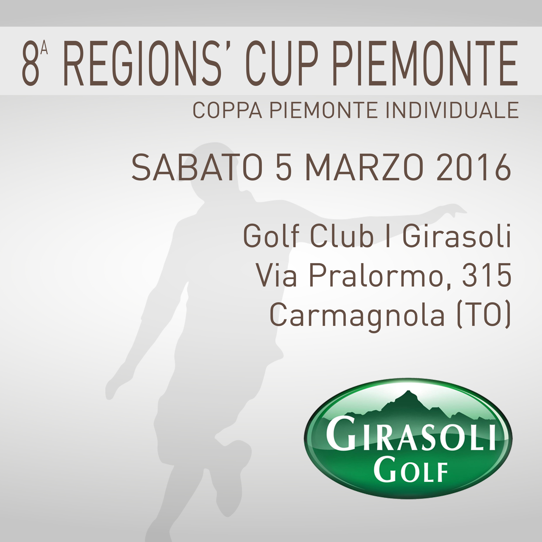 Locandina 8 tappa Regions' Cup Footgolf Piemonte 2015-2016 Carmagnola TO sabato 5 marzo 2016 Negozio