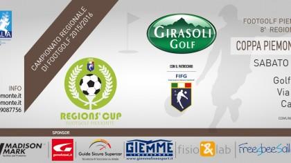 Locandina 8 tappa Regions' Cup Footgolf Piemonte Carmagnola TO sabato 5 marzo 2016