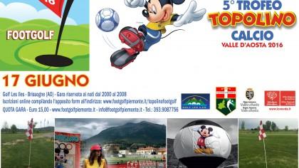 Topolino Footgolf 2016 locandina orizzontale