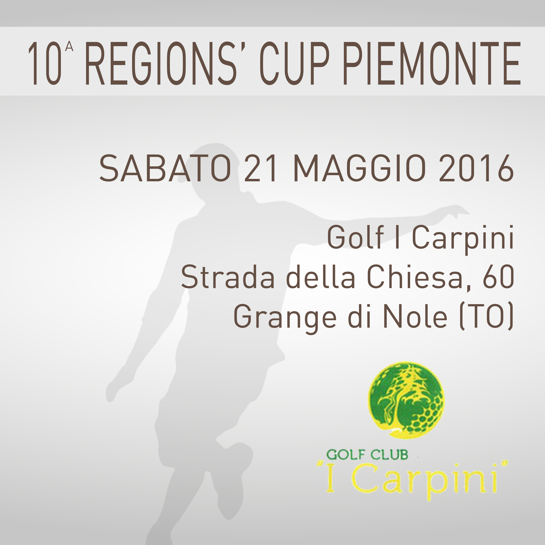 Locandina 10 tappa Regions' Cup Footgolf Piemonte 2015-2016 Grangia di Nole TO sabato 21 maggio 2016 Negozio