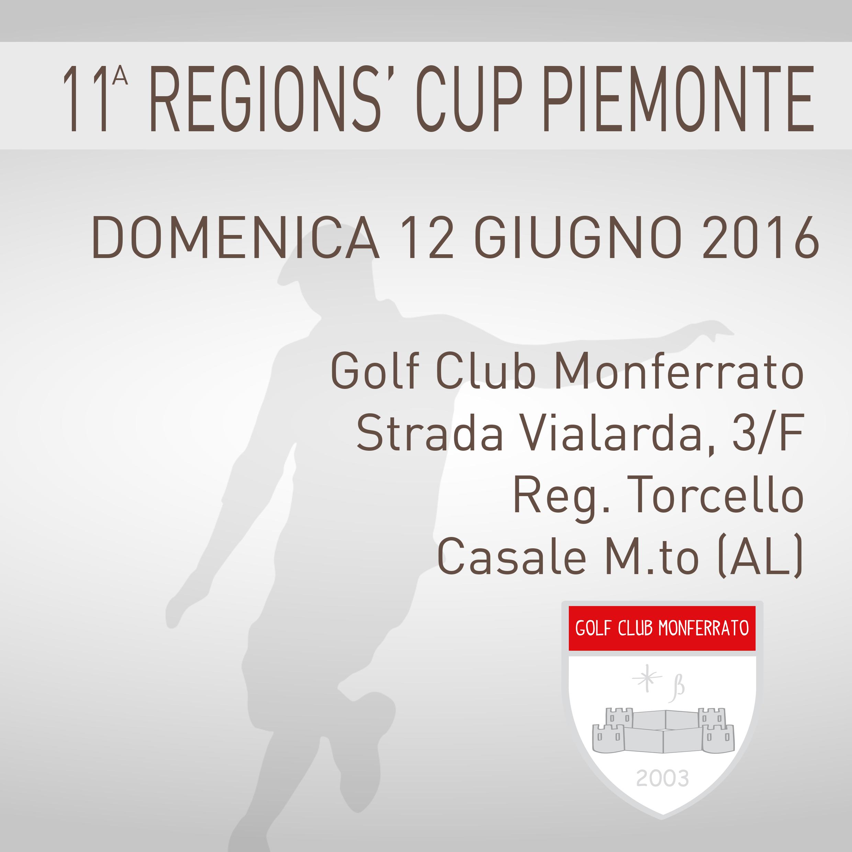 Locandina 11 tappa Regions' Cup Footgolf Piemonte Casale AL domenica 12 giugno 2016 Negozio