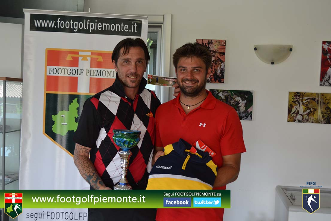 Parodi vince 11 Regions' Cup Footgolf Piemonte 2016 Golf Monferrato di Casale (Al) 12giu16